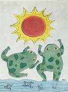 太陽と蛙.jpg