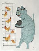 猫のお医者と鶏.jpg