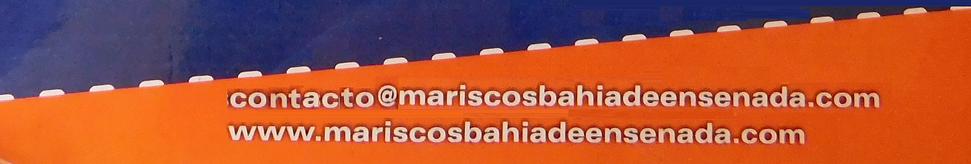 Página Oficial y Correo Electrónico Restaurante Mariscos Bahía de Ensenada