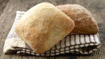 Three Mills Bakery Ciabatta Rolls 6pk