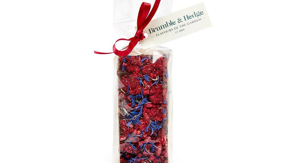 Lemon Nougat w/Raspberries & Dark Chocolate by Bramble & Hedge