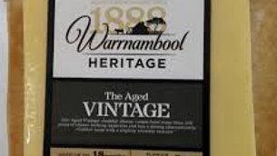 Warrnambool Vintage Cheddar 250g