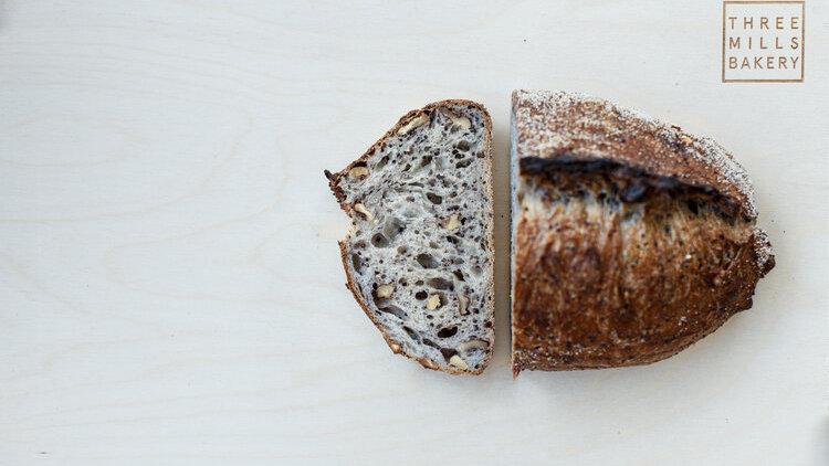 Quinoa & Walnut Loaf Three Mills Bakery
