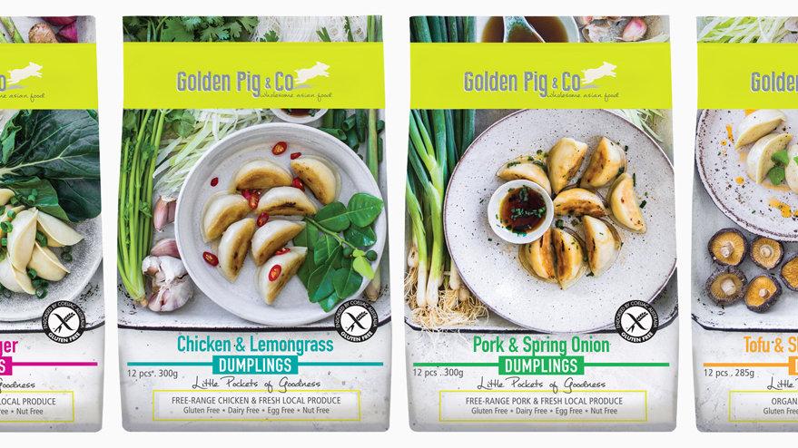 Golden Pig Dumplings 285g