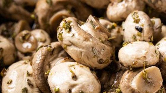 Marinated Herbed Mushrooms