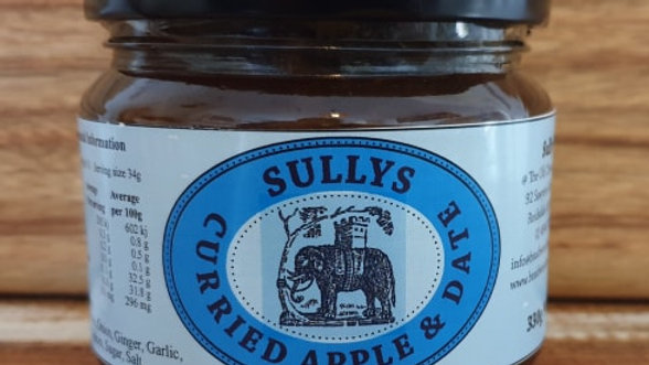 Sullys Curried Apple & Date Chutney