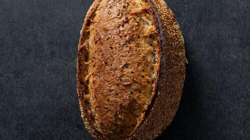 Ancient Grain Sourdough Loaf Three Mills Bakery