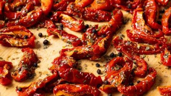 Semi-dried Marinated Tomatoes