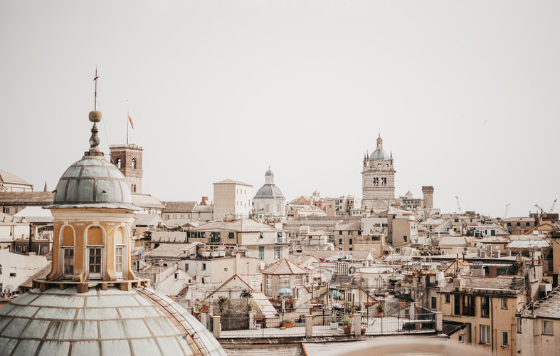 Italy Travel Photography | Genoa, Italy | Saige Ashton Print