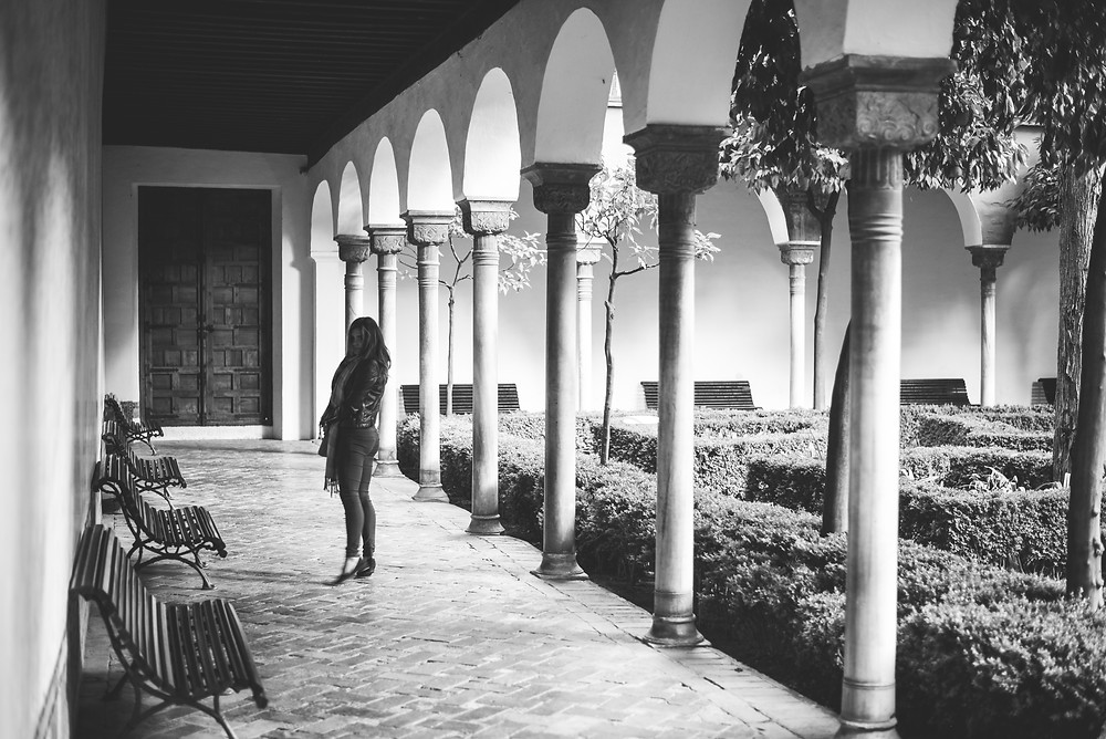 Alhambra Palace, Granada, Spain | lifestyle shoot