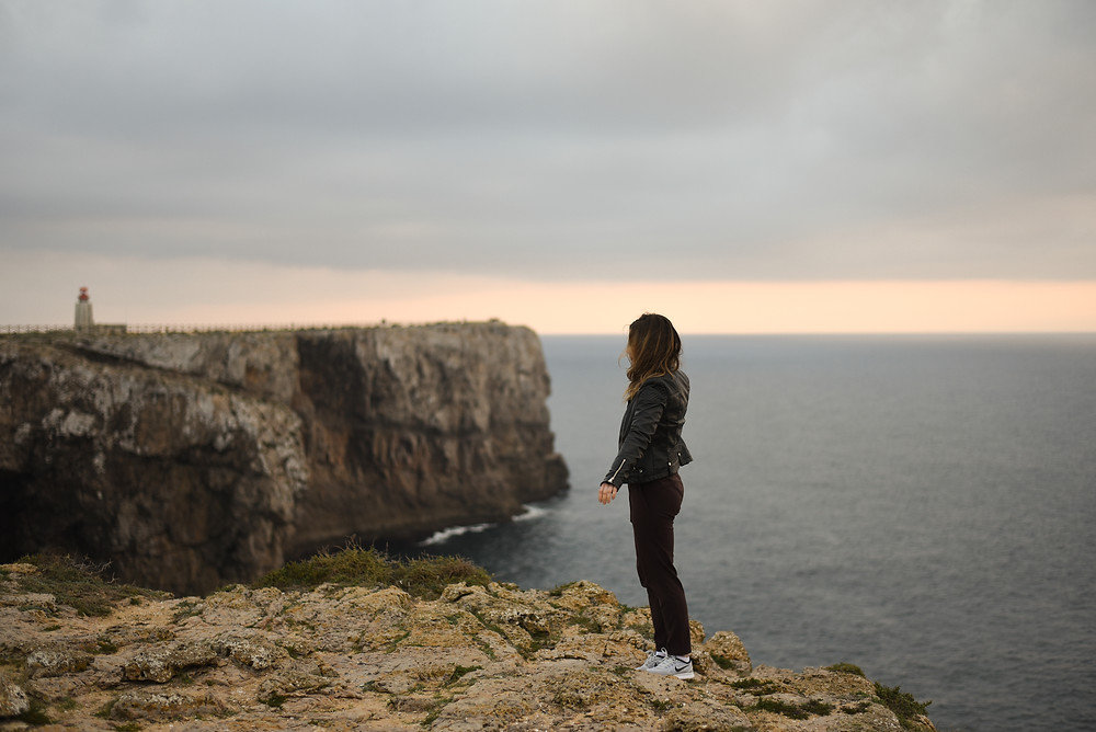 Sargres cliffs, Portugal, lifestyle photography, travel blogger, Portugal