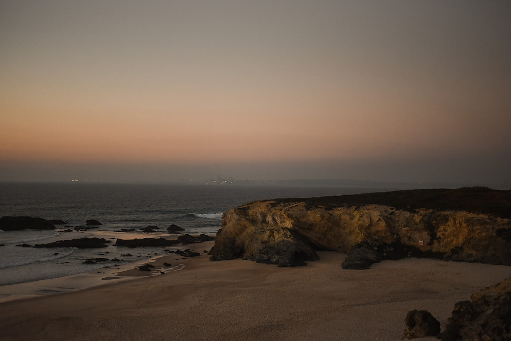 Alrgarves sunset, lifestyle photography, travel blogger, Portugal