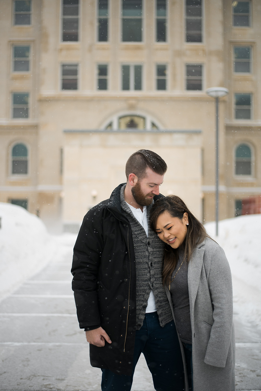 Alberta Legislature Outdoor Winter Engagement