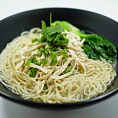 Shredded Chicken Noodle Soup 鸡丝汤面