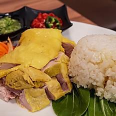 HaiNan chicken海南鸡配饭