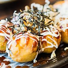 Takoyaki ( 4 Pcs )章魚小丸子