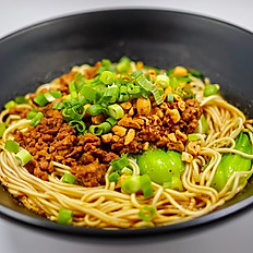 ChongQing ZaJiang Mian 重庆杂酱面(mild spicy小辣)No Soup