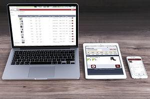 Apps auf Laptop, Tablet und Smartphone