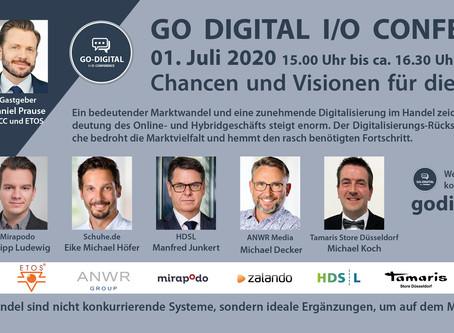 1. Go Digital I/O Conference - Fragen und Antworten