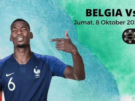 UEFA Nations League : Prediksi Semifinal Belgia vs Perancis 8 Oktober 2021