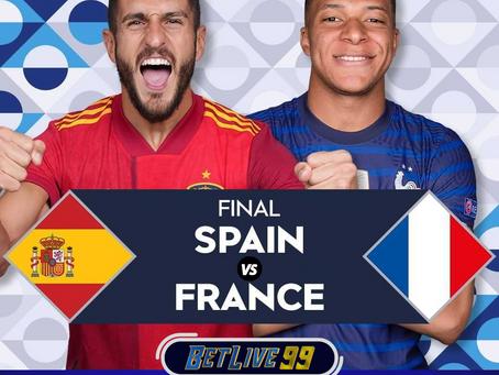 UEFA NATIONS LEAGUE : HASIL PERTANDINGAN SPANYOL VS PERANCIS SKOR 1-2   BETLIVE99