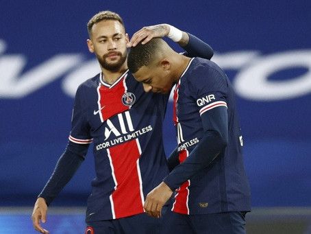 Kylian Mbappe menyebut Neymar 'Gelandangan'