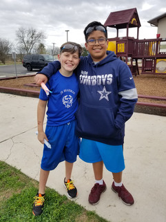 A lot of our campers either find old friends, or make new ones!