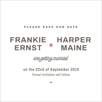 Frankie and Harper
