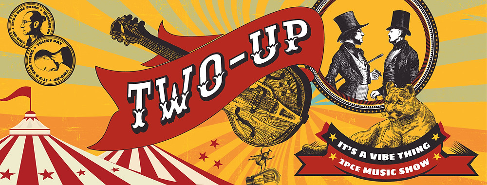Two-Up Music Show social media banner