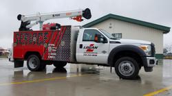 Utility Truck Wrap