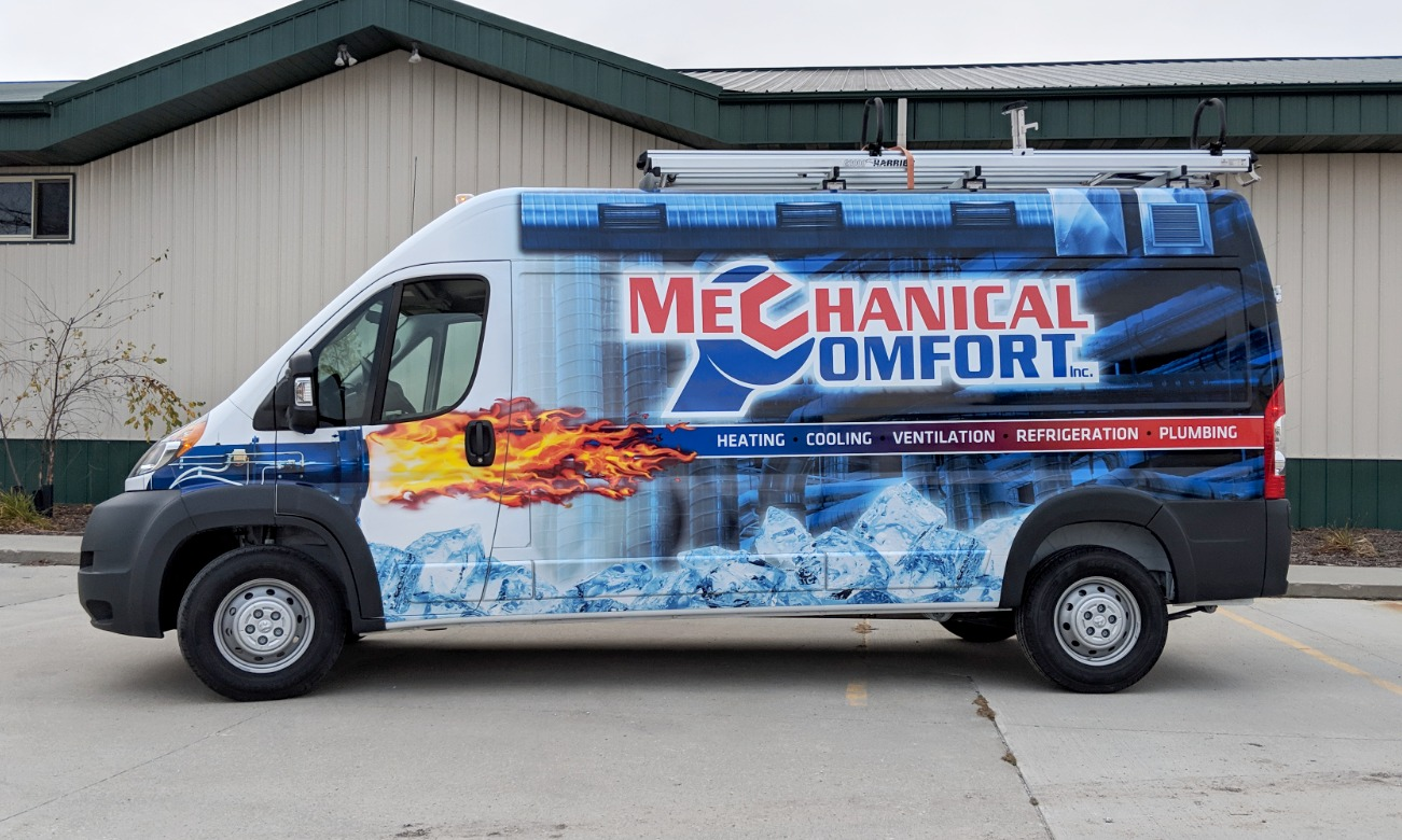 Fleet Van Wrap