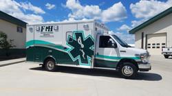 Partial Ambulance Wrap