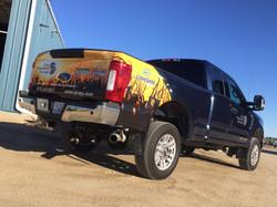Partial Truck Wrap