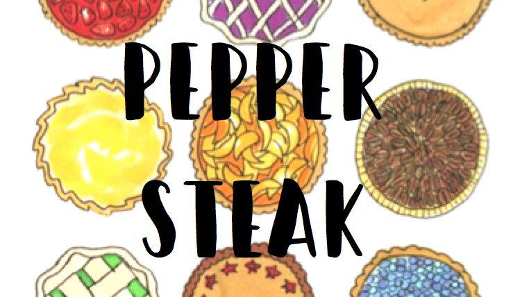 Pepper Steak Family Pie