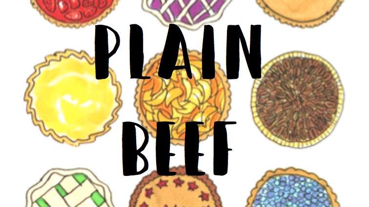 Plain Beef Family Pie