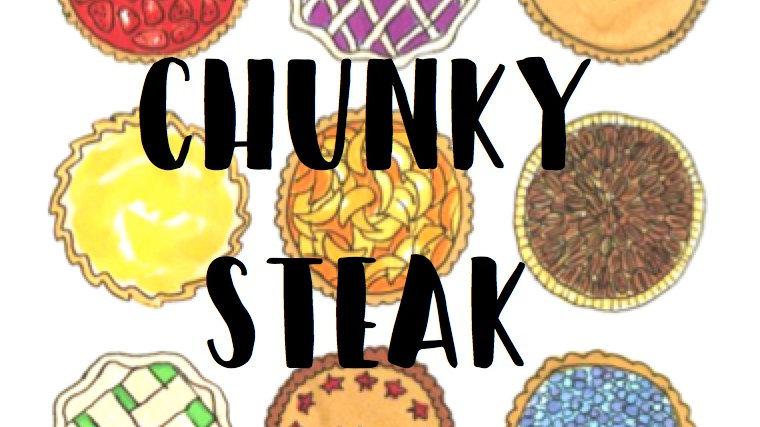Chunky Steak Family Pie