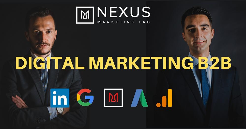 web marketing B2B marketing digitale B2B