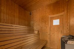 Fælles sauna - husk badetøj