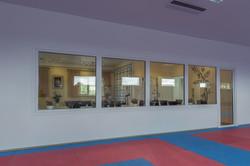 Se karate fra fællesrummet