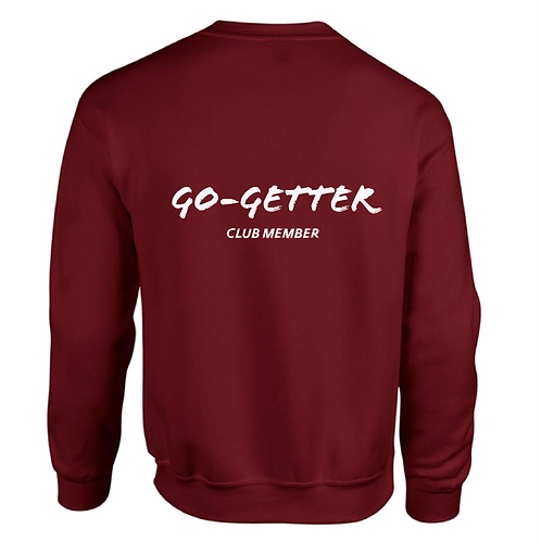 RED SWEATER | GO-GETTER