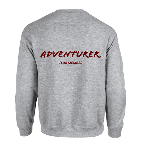 GREY SWEATER | ADVENTURER