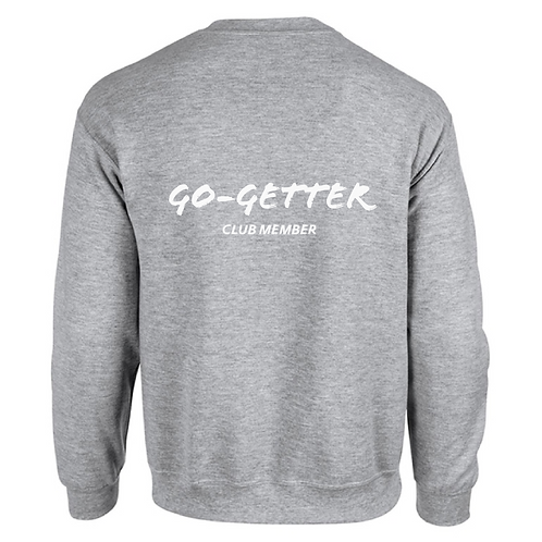 GREY SWEATER | GO-GETTER