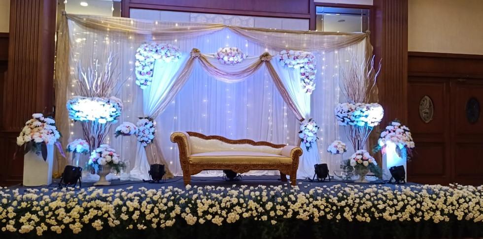 Engagement Flower Decoration Price In Bangalore.