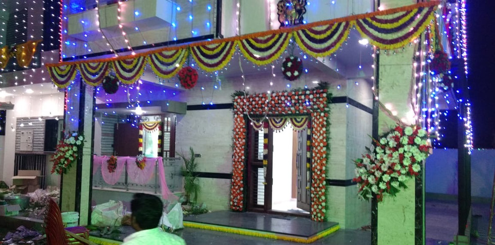 House Warming Ceremony Flower Decoration Price In Bangalore.