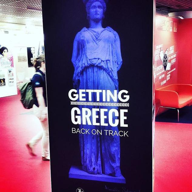 Greek Economic Forum on the red carpet #
