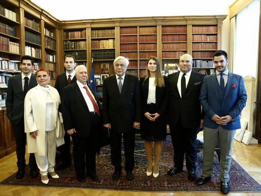 Επίσημη συνάντηση του Greek EconomicForum με τον Πρόεδρο της Ελληνικής Δημοκρατίας