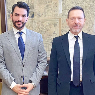 Με τον διοικητή της Τράπεζας της Ελλάδος