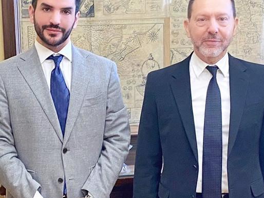 Επίσημη συνάντηση με τον Διοικητή της Τράπεζας της Ελλάδος, Γιάννη Στουρνάρα