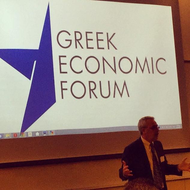 #geforum2015 #harvard #GreekEconomicForu