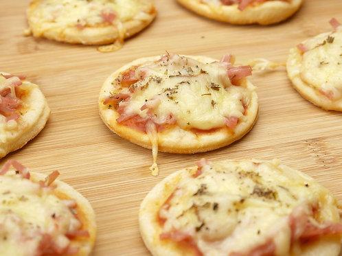 Mini Pizza Presunto e Queijo (preço na descrição)